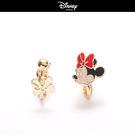 【迪士尼系列】標準米妮蝴蝶結夾式耳環~夏綠蒂didi-shop