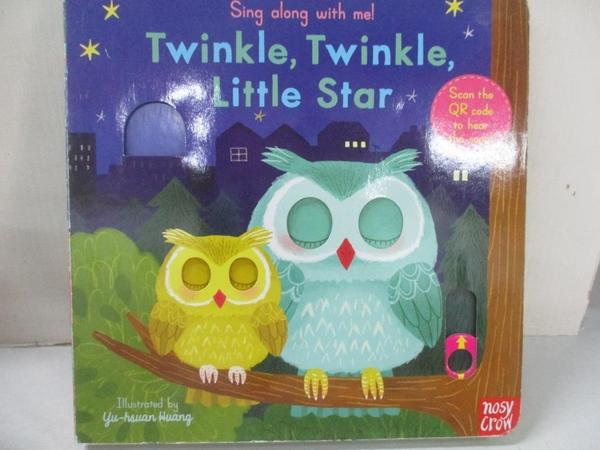 【書寶二手書T5/電玩攻略_IM6】聽唱玩童謠遊戲書Twinkle Twinkle Little Star_Yu-hsuan Huang