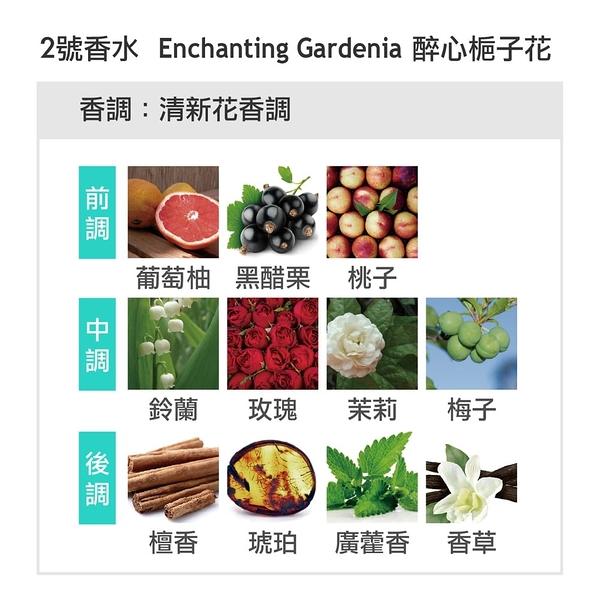 岡山戀香水~LA CHANTEE 2號 Enchanting Gardenia 醉心梔子花30ml~優惠價:1800元