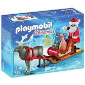 特價 playmobil 聖誕系列 聖誕老人與麋鹿雪橇_PM05590