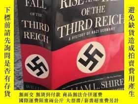 二手書博民逛書店第三帝國的興亡The罕見Rise and Fall of the Third Reich 厚本 23.5X15CM