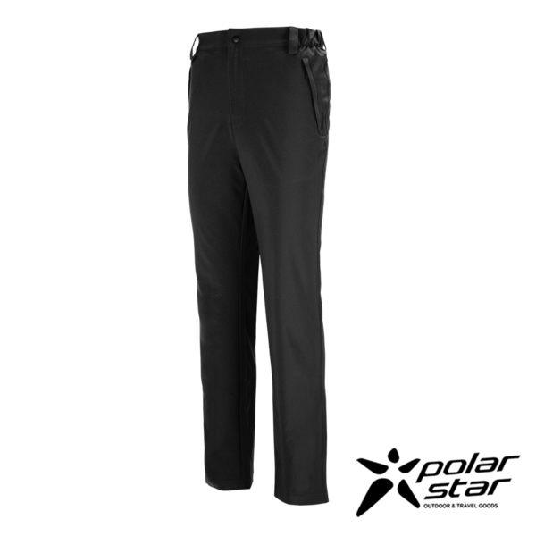 PolarStar 男 抗UV排汗彈性長褲『黑』P17339 西裝褲│休閒褲│吸濕排汗│直筒褲│透氣休閒褲