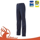 【Wildland 荒野 女 厚SOFTSHELL防風褲《深藍》】0A12327/抗靜電/彈性/防潑水