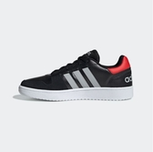 Adidas NEO HOOPS 2.0 男款黑紅色休閒鞋-NO.EE7800