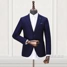 正裝外套超薄網眼面料春季新品厚款兩粒扣西裝男單西外套