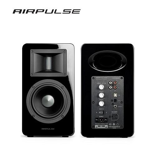 EDIFIER 漫步者 AIRPULSE A100 2.0聲道 兩件式 藍牙喇叭音響 黑