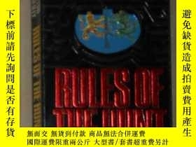 二手書博民逛書店英文原版罕見Rules of the Hunt by Victo