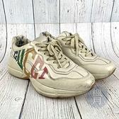 BRAND楓月 GUCCI古馳 復古 彩虹 Logo 經典 老爹鞋 運動鞋 厚底 小白鞋 女鞋
