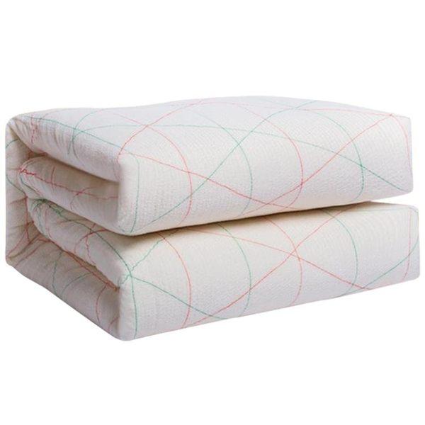 學生宿舍棉絮床墊1.5 1.8m鋪床褥子雙人單人墊被棉花1.2米墊背0.9【快速出貨】