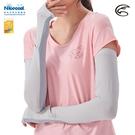ADISI NICE COOL吸濕涼爽透氣抗UV袖套(開錶洞款) AS21031【白煙灰】/ 城市綠洲(UPF50+、涼感、防曬)