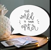 手寫留言燈箱LED字母DIY創意生日禮物發光廣告牌熒光求婚錶白道具-Ifashion IGO