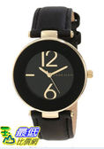 [美國直購 USAShop] 手錶 Anne Klein Women s AK/1064BKBK Gold Tone Black Leather Strap Watch $2587