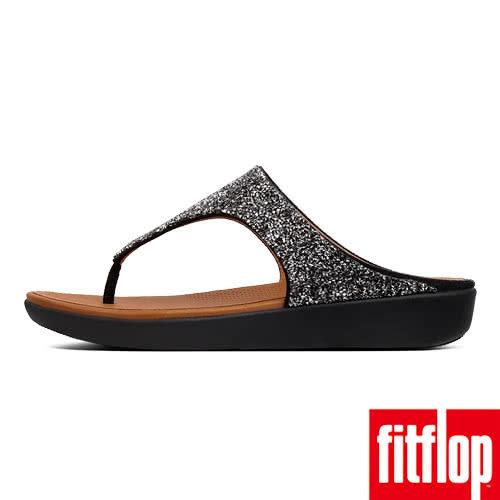 【FitFlop】BANDA II QUARTZ TOE-THONGS(黑色)