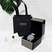手錶收藏盒 高檔奢華PU皮翻蓋包裝禮品單手錶手環禮物首飾收納展示空盒子單個【全館免運】