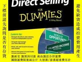 二手書博民逛書店Direct罕見Selling For DummiesY410016 Belinda Ellsworth I