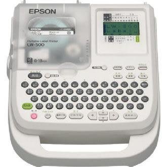 愛普生EPSON LW-500 可攜式 標籤機