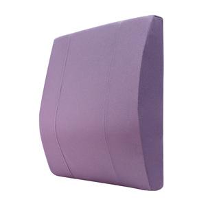 HOLA 高密度抗菌健康強化曲線腰墊紫色