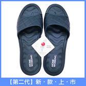 【HOME WORKING】第二代-EVA環保室內拖鞋-藍色