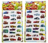 【卡漫城】 CARS 水晶 貼紙 兩張組 ㊣版 閃電麥坤 Mcqueen 立體 汽車總動員
