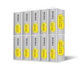 簡約組合優質抽取式衛生紙『銀色款』100抽x10包x8串/箱-箱購