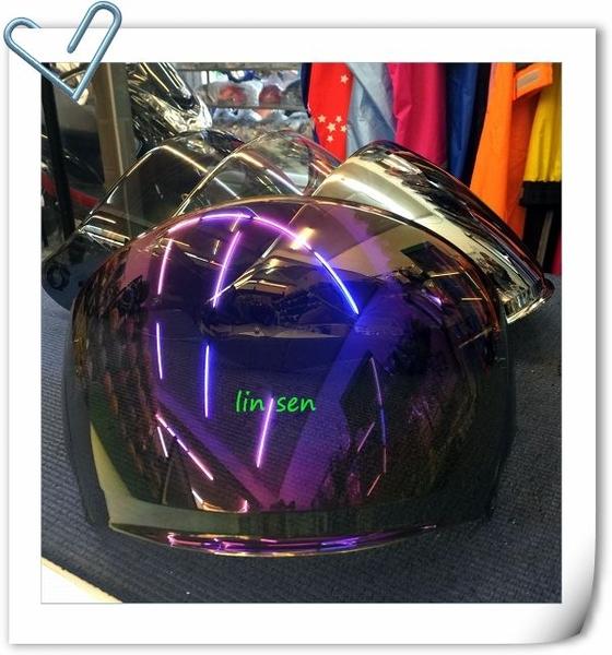 M2R安全帽,J5,專用電鍍鏡片