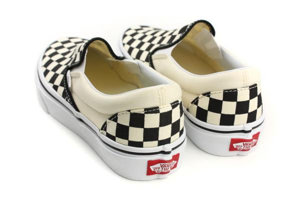 VANS Classic Slip-On 懶人鞋 滑板鞋 帆布 黑色/白 棋盤格 男女鞋 C011999 no316