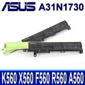 ASUS A31N1730 3芯 原廠電池 0B110-00550100 VivoBook 15 F560 F560UD K560UD R562UD R562UD A560UD X560