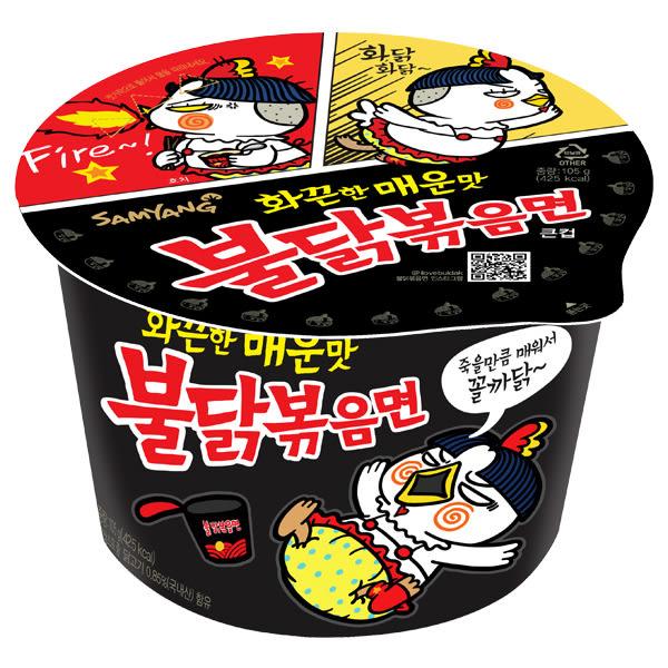 韓國 火辣雞肉風味鐵板炒麵(105g)【小三美日】