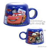 〔小禮堂〕迪士尼 CARS閃電麥坤 寶特瓶專用杯蓋《藍.脫線.星星.140ml》 4973307-37317