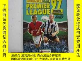 二手書博民逛書店PREMIER罕見LEAGUE 97 OFFICIAL STIC