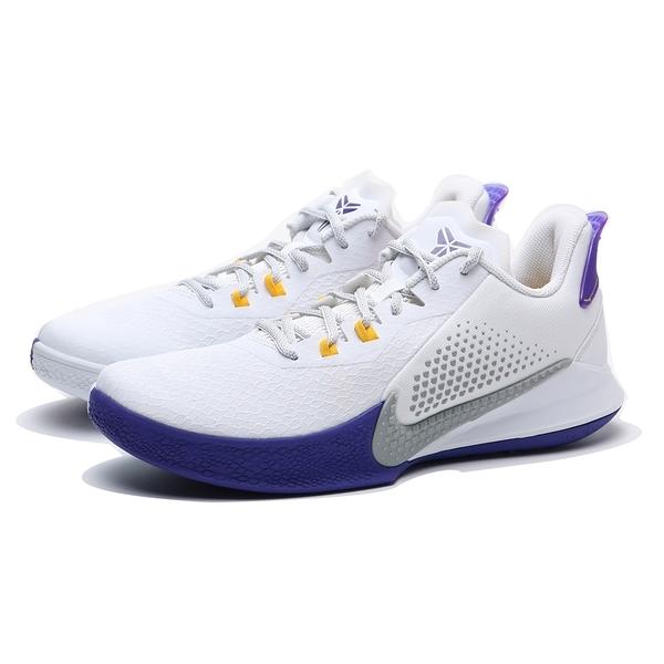 NIKE 籃球鞋 KOBE MAMBA FURY EP 白紫 湖人 耐磨 氣墊 男 (布魯克林) CK2088-101