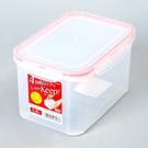 日本製【Inomata】四扣式深型保鮮盒RD-1300/ 1.3L / 1853