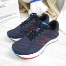 New Balance 680 緩震跑鞋 慢跑鞋 2E楦 M680RK6 男款 深藍 大尺碼【iSport愛運動】