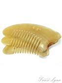 刮痧板按摩梳大號加厚黃牛角梳子頭部經絡按摩 范思蓮恩