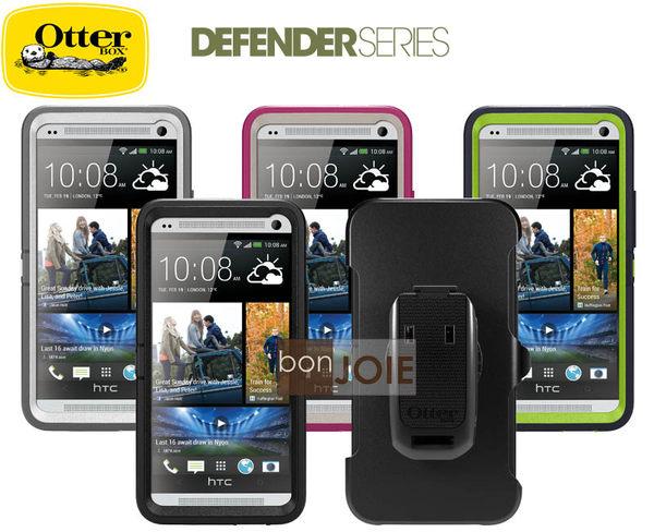 ::bonJOIE:: 美國原廠正品 OtterBox Defender HTC NEW ONE ( M7 ) 防禦者 三防手機殼 三層 保護殼 蓋 套