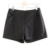 【MASTINA】簡約造型短褲-黑  秋裝限定嚴選