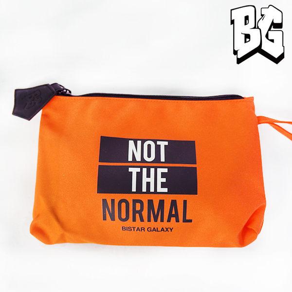 Bistar Galaxy 橙色玩味字母萬用包