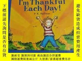 二手書博民逛書店I m罕見Thankful Each Day(我每天都很感激)Y
