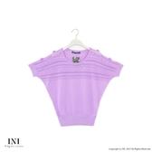 漢神獨家【INI】優雅質感、專櫃時尚針織上衣.淺紫色