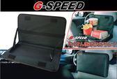 G-SPEED 競技卡夢 PR33 車用餐盤 置物盤 美食盤 固定頭枕後方 穩固部搖晃 可調式餐盤