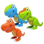 兒童恐龍玩具塑膠大號電動幼龍世界電子噬暴龍霸王龍套裝 蜜拉貝爾