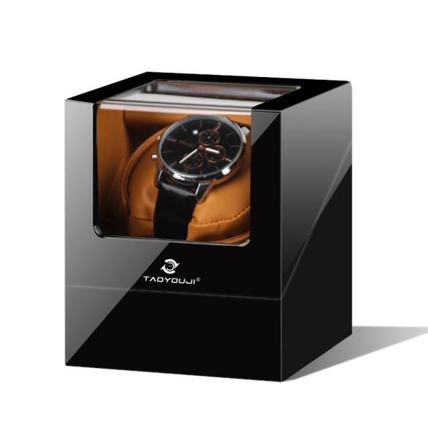 搖錶器 單錶位進口機芯搖錶器自動機械手錶上鏈盒上鏈器弦轉錶器晃錶家用