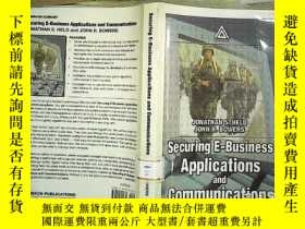 二手書博民逛書店Securing罕見E-Business Application