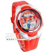 MINGRUI 輕便多功能計時腕錶 學生電子錶 兒童手錶 女錶 鬧鈴 日期 冷光照明 MR8580紅