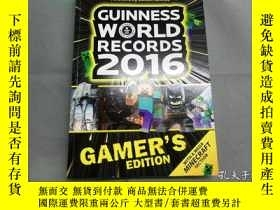 二手書博民逛書店Guinness罕見World Records 2016 Gam