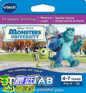 [106美國暢銷兒童軟體] VTech InnoTab Learning Software Monsters University 80-231900 3417762319009