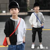 男童長袖T恤2018新款長袖韓版秋季打底衫潮衣zzy3870『美鞋公社』