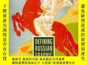 二手書博民逛書店Defining罕見Russian Graphic Arts:
