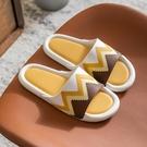 防滑拖鞋 涼拖鞋女夏家用家居靜音軟底浴室洗澡防滑透氣防臭簡約涼 晶彩 99免運