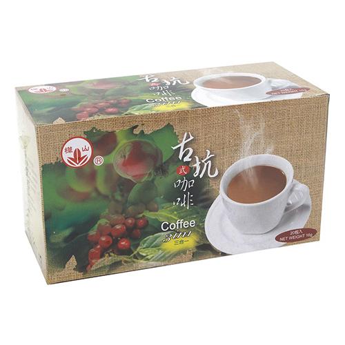 【奇奇文具】樺山 古坑 二合一咖啡12gx25包